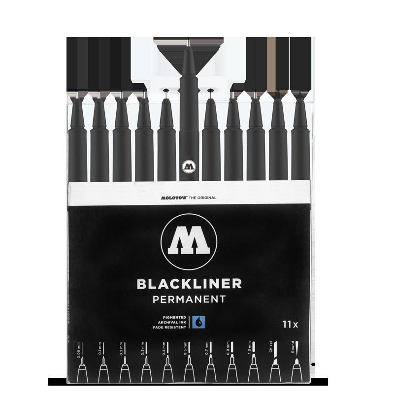 MOLOTOW™ BLACKLINER teljes készlet