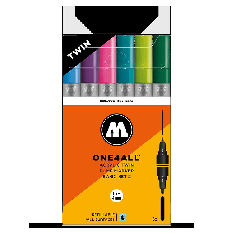 ONE4ALL™ ACRYLIC TWIN akril filctoll készlet alap szett 2