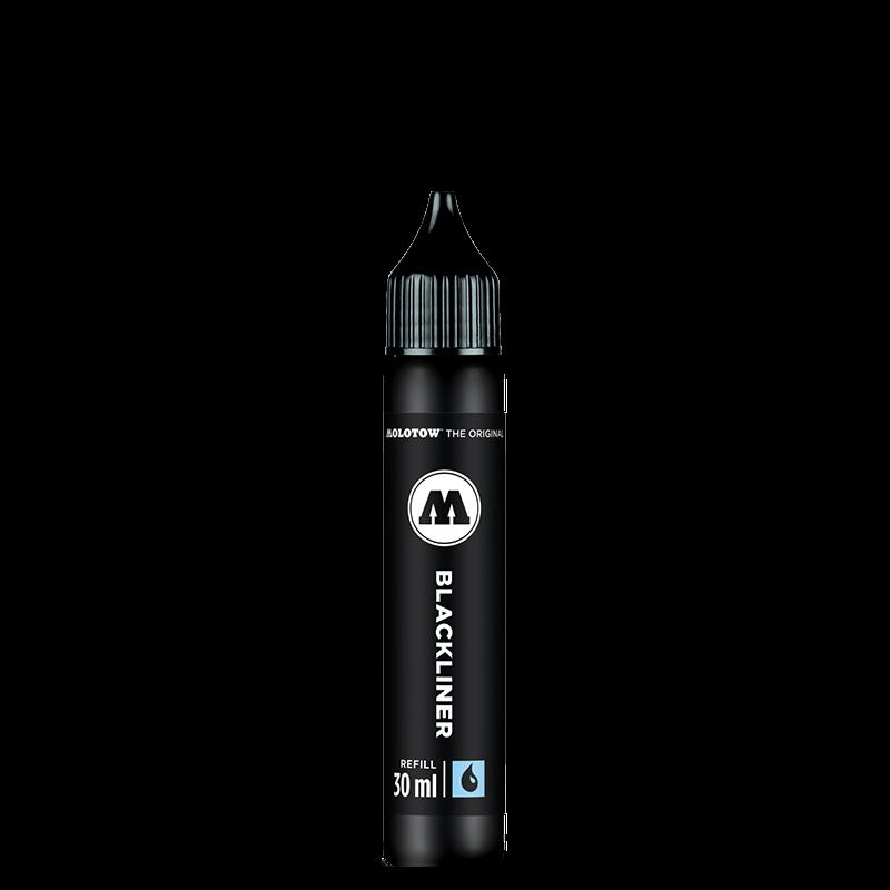 MOLOTOW™ BLACKLINER filctoll utántöltő 30ml