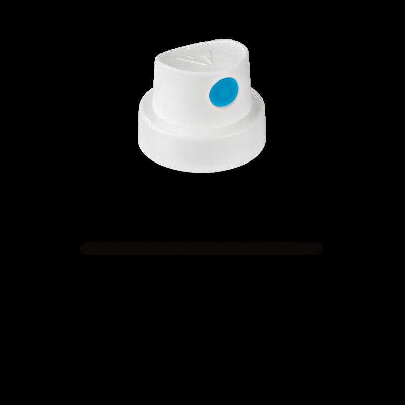 """Festékszóró fej """"Soft"""" (fehér/kék)"""