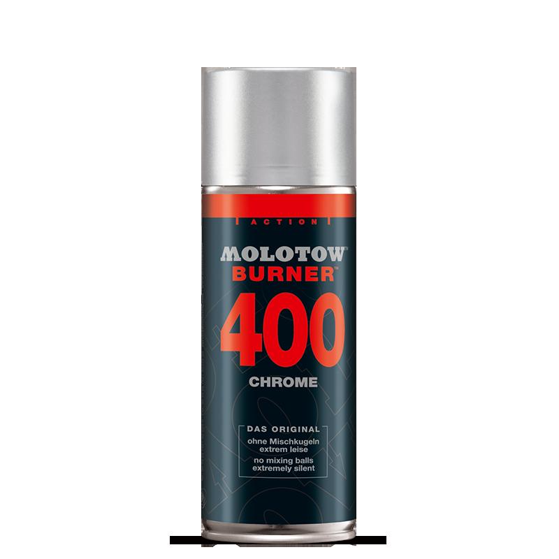 BURNER™ króm festékszóró 400 ml
