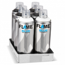 """FLAME™ BLUE festékszóró """"fekete-fehér"""" csomag"""