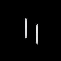 kör alakú hegy 1-4 mm