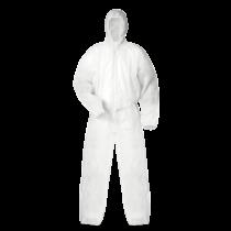 színvédelmi ruházat (fehér)