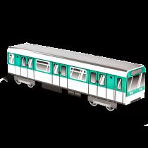 """MINI SUBWAYZ karton vonat """"Párizs"""""""