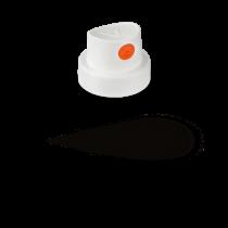 """Festékszóró fej """"Csendes"""" (fehér/narancssárga)"""
