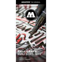 Calligrafx™ pumpás filctoll termékleírás