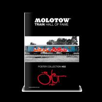 "MOLOTOW™ vonat poszter #02 ""SWET"""
