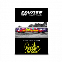 """MOLOTOW™ vonat poszter #04 """"BOOGIE"""""""