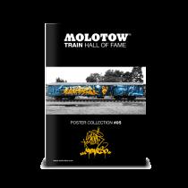 "MOLOTOW™ vonat poszter #05 ""SLIDER & CAPARSO"""