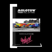 """MOLOTOW™ vonat poszter #06 """"MADC"""""""