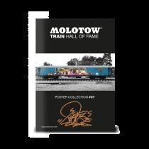 "MOLOTOW™ vonat poszter #07 ""RIOT"""