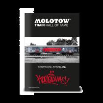 """MOLOTOW™ vonat poszter #08 """"KOOL SAVAS"""""""