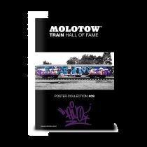 "MOLOTOW™ vonat poszter #09 ""FINO"""