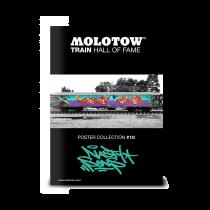 "MOLOTOW™ vonat poszter #10 ""ROMEO & MEGA"""