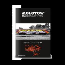 """MOLOTOW™ vonat poszter #11 """"GESER"""""""
