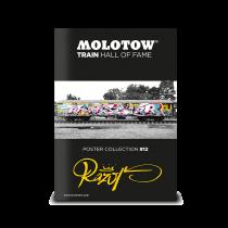 """MOLOTOW™ vonat poszter #12 """"RAZOR"""""""