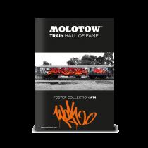 "MOLOTOW™ vonat poszter #14 ""WOK"""