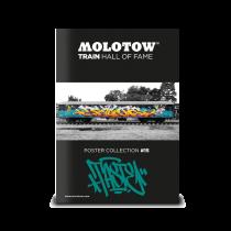 "MOLOTOW™ vonat poszter #15 ""TASTE"""