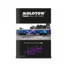 "MOLOTOW™ vonat poszter #16 ""LOOMIT"""