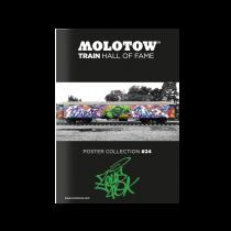 "MOLOTOW™ vonat poszter  #24 ""ZEUS"""
