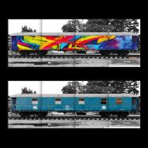 MOLOTOW™ vonat dicsőség csarnoka MadC Mega poszter