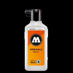ONE4ALL™ utántölthető üres palack 180 ml