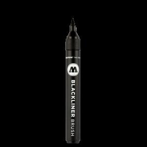 MOLOTOW™ Blackliner ecset hegyű filctoll